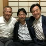 県議会の同期である齋藤健夫 神奈川県議会副議長を囲んでのお祝い会です。