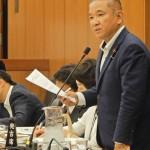 昨日の災害対策特別委員会では、帰宅困難者対策について取り上げました。