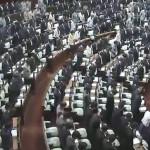 本日、衆議院本会議が開催され、冒頭に西日本豪雨災害による犠牲者に対する黙とうを行い、衆議院としての決議を全会一致で可決しました。