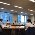 今日は「社会保障と税収の推移」をテーマに、会派の財政問題勉強会が開催されました。