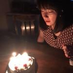 地元のヒロセさんのケーキで、家内のお誕生日祝いです。