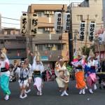 東林間サマーわぁ!ニバル  今年も暑い夏にふさわしい「阿波踊り」がやってきました。