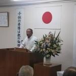 「平成」最後の8月6日の朝を迎え、毎年恒例で早朝5時から行われている「平和祈念朝起会」からスタート。