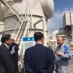 昨日より鹿児島県にきており、早朝より超党派地熱発電普及推進議員連盟の視察で大霧地熱発電所にきております。