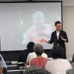 第3回 民権かながわは、当会の幹事である堀 潤さんと「わたしが″つくる″憲法9条」についてのワークショップ。