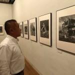 相模原から日本を代表する写真家であります江成常夫先生の写真展にお邪魔しております。
