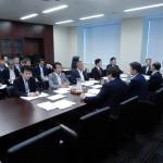 北海道胆振東部地震や台風21号の被害状況、そして国の対応について、災害対策特別委員会理事懇でヒアリングを受けました。