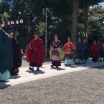本日は亀ヶ池八幡宮例大祭例大祭に参列させていただきました。