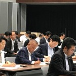 北海道胆振東部地震 野党合同対策会議が11時か ら国会内で開催をされ、無所属の会を代表して参加させていただきました。
