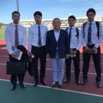 本日より日本体育大学生のインターンの皆さんをお預かりしております。