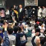 今年度初めて小学6年生たちが国会見学にお越しいただきました。