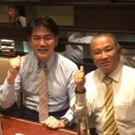 今夜は、2009年当選同期の大西健介衆議院議員(愛知県第13区)と二人で焼肉をいただきました^ – ^