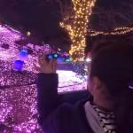 クリスマスの夜は、家族で相模湖イルミリオンに出かけてきました^ ^