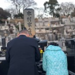 夕方より家族にて、母のお墓まいりに出かけてきました。