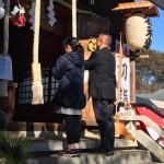 家族で日枝神社にお参りに行きました。