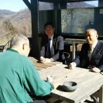 本日は。後藤祐一衆議院議員と一緒に旧 藤野町を歩かせていただきました。