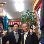 今日も新年会、武道初め式、意見交換会、街頭演説と活動を行なってきました。