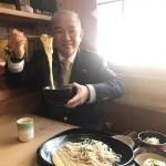 和の雰囲気が漂う長寿庵さんにて、鴨汁そばをいただきました^ ^