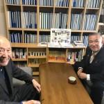 本日も国会で活動中ですが、政治の師 藤井裕久先生との打ち合わせで事務所にお邪魔しております。