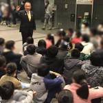 本日は母校 桜台小学校六年生の皆さんらが国会見学に来られました。