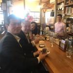 相模原お店大賞を受賞された「自家焙煎 石井珈琲店」さんで、後藤祐一衆議院議員と家内と一緒に「冬萌(ふゆもえ)」をいただき、ホッと一息させていただきました。