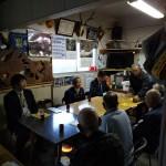 夕方より後藤祐一衆議院議員と緑区長竹にお邪魔をし、皆さんとの意見交換を行い、「下水道と合併浄化槽の問題」「公共交通問題」などについてお聞きしました。