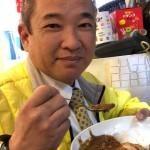 お店大賞受賞店「梵蔵(ボンクラ)」さんのオススメメニューでありますチキンカツカレーをいただきました。