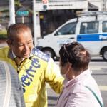 1万人に会いに行くキャンペーンは、今日も市内各地で実施中!