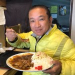 いつものコースで市場飯 「禅」さんで辛口カレーライス(450円)をいただきました^_^