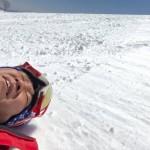 市長選を決意した時に、「市長選後の週末にスキーにいこう!」と娘と約束をしておりました。