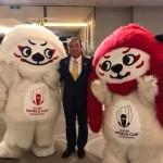 今日は九都県市首脳会議にて、ラグビーワールドカップの盛り上げを確認しあいました。