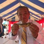 本日より明日まで、第34回 川と湖の魚フェアが開催されております。