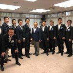 津久井建設関連団体の皆さんと、津久井青年会議所の佐藤理事長をはじめとした仲間の皆さんが市長室を訪問してくれました。