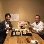 県議会同期であります斎藤健夫 前県議会副議長がお越しになり、市役所から徒歩5分のところにあります「大善」さんで天丼セットをいただきました^ ^