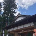 晴天の中、鳥屋獅子舞伝承館及び諏訪神社境内で行われおります「鳥屋囃子交流会」に参加させていただきました。