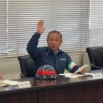 災害対策本部会議 運営訓練