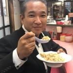 長年地元に愛されている南蛮ラーメンさんの半チャーハン(360円)と手作り餃子(350円)をいただきました^ ^