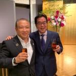 今夜は、伴野 豊先輩(愛知県第8区)のパーティーがあり、参加させていただきました。