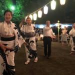 今日も夏祭り・盆踊り大会と市内3区を走り回りました^ ^