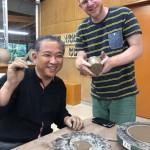 金津創作の森にて、陶芸にチャレンジ。