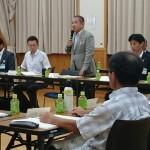 本日の「大沢地区まちづくりを考える懇談会(19時〜20時30分)」からスタートし、市内22ヶ所の懇談会がスタートしました。