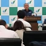 本日の定例記者会見は、台風第19号被害と対応についてとなりました。
