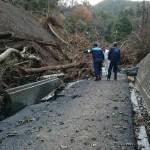 本日は、集会所でお一人が暮らしている底沢地区(相模湖)の被災現場に行ってきました。
