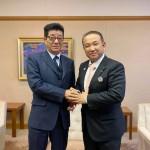 本日は大阪市役所にお邪魔をし、松井一郎市長と面会させていただきました。