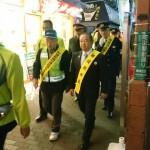 町田市・相模原市「町田駅周辺合同歳末特別警戒」が行われ、町田市の石坂市長、市民団体、町田警察署・相模原南警察署らの皆さんと活動を行いました。