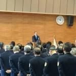 相模原市役所では令和2年仕事始め式が行われ、年始初の挨拶をさせていただきました。