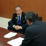 神奈川新聞さんから相模原市の東京オリンピック・パラリンピック競技大会への取り組みなどの取材がありました。