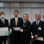 中国エンビジョングループよりマスク1万枚の寄贈を受けました。