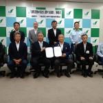 一般社団法人神奈川県建物解体業協会との「消防活動の協力に関する協定」締結式について