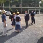藤野北小学校 仮設校舎完成